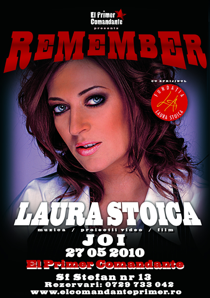 LauraStoica27mai2010ElComandante